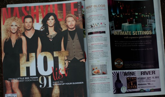 Nashville Lifestyles Magazine thinks I'm HOT!!!!
