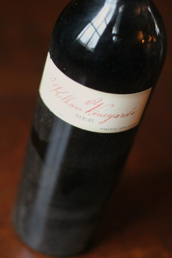 2002 Kelham Vineyards Merlot – The 5-year wait is over!!