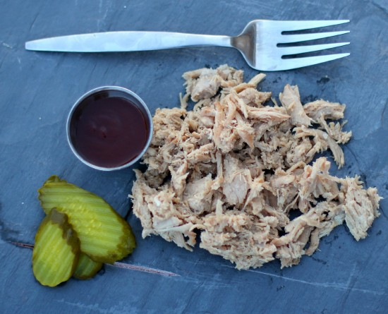 Dutch Oven Slow Cooked Pulled Pork Loin