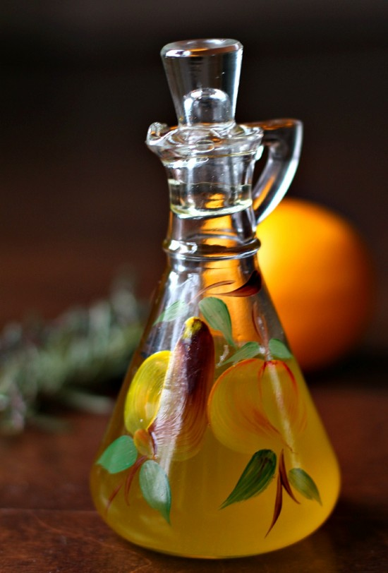 Lemon Herb-Infused Olive Oil