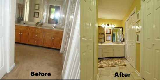 Our House – A Before/After Bathroom Reveal