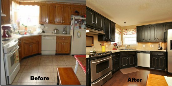 Our House……A Before/After Kitchen Reveal