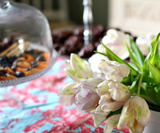easter craft table