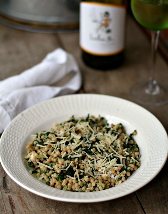 Spinach & Onion Couscous