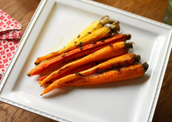 thyme roasted carrotsB