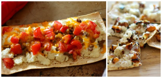Flatbread collage