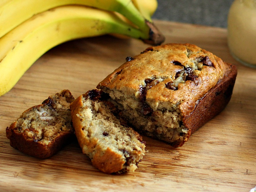 recipe: banana chocolate chip bread [13]
