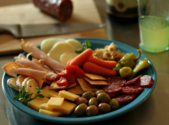 Easy Antipasto Plate