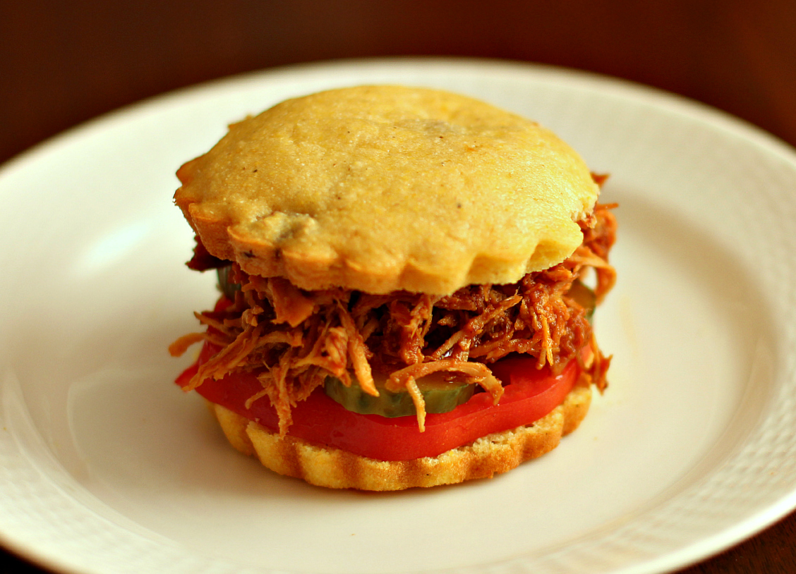 ... barbecue and cornbread of course this slow cooked chicken barbecue is