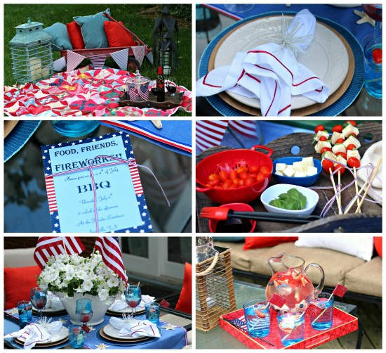 Food, Friends & Fireworks 4th of July Party