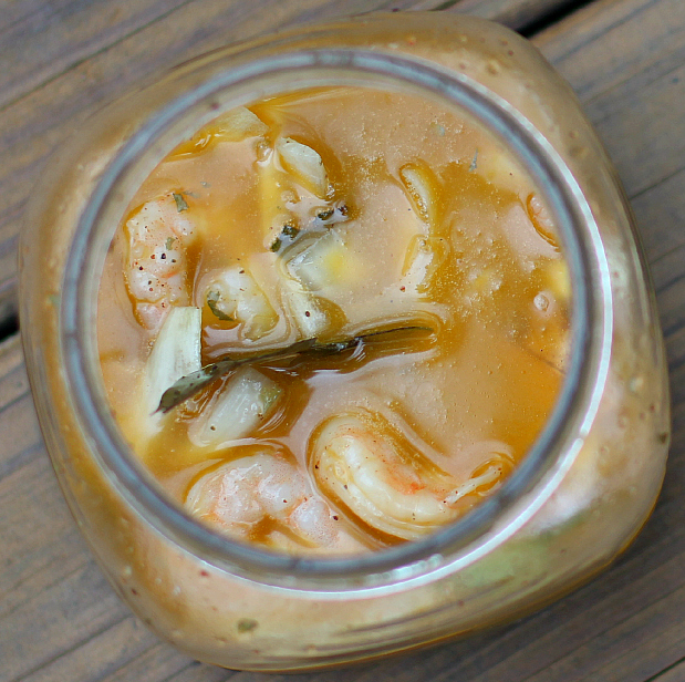 Pickled Shrimp (Adapted from Saveur.com)