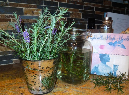 Rosemary & Lavender Infused Vodka