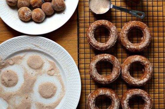 Pumpkin Spice Baked Donuts with Cinnamon Sugar Topping