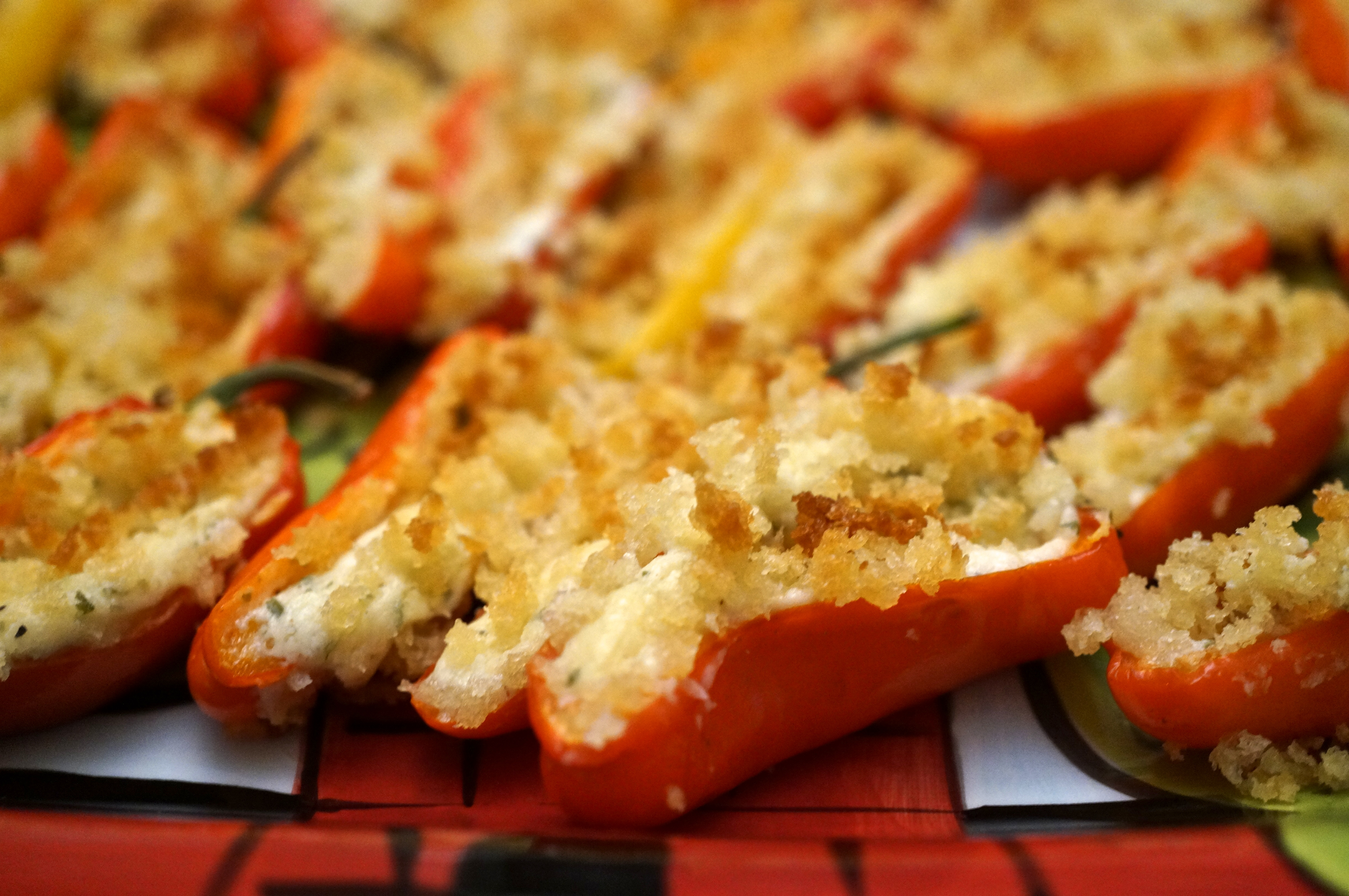 Boursin Sweet Pepper Poppers