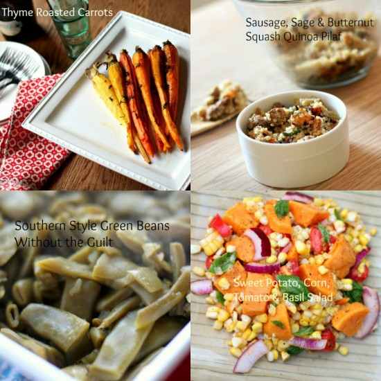 Healthy Thanksgiving Side Dish Recipe Round-up