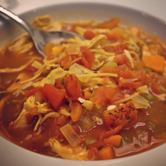 Mexican Chicken and Vegetable Soup