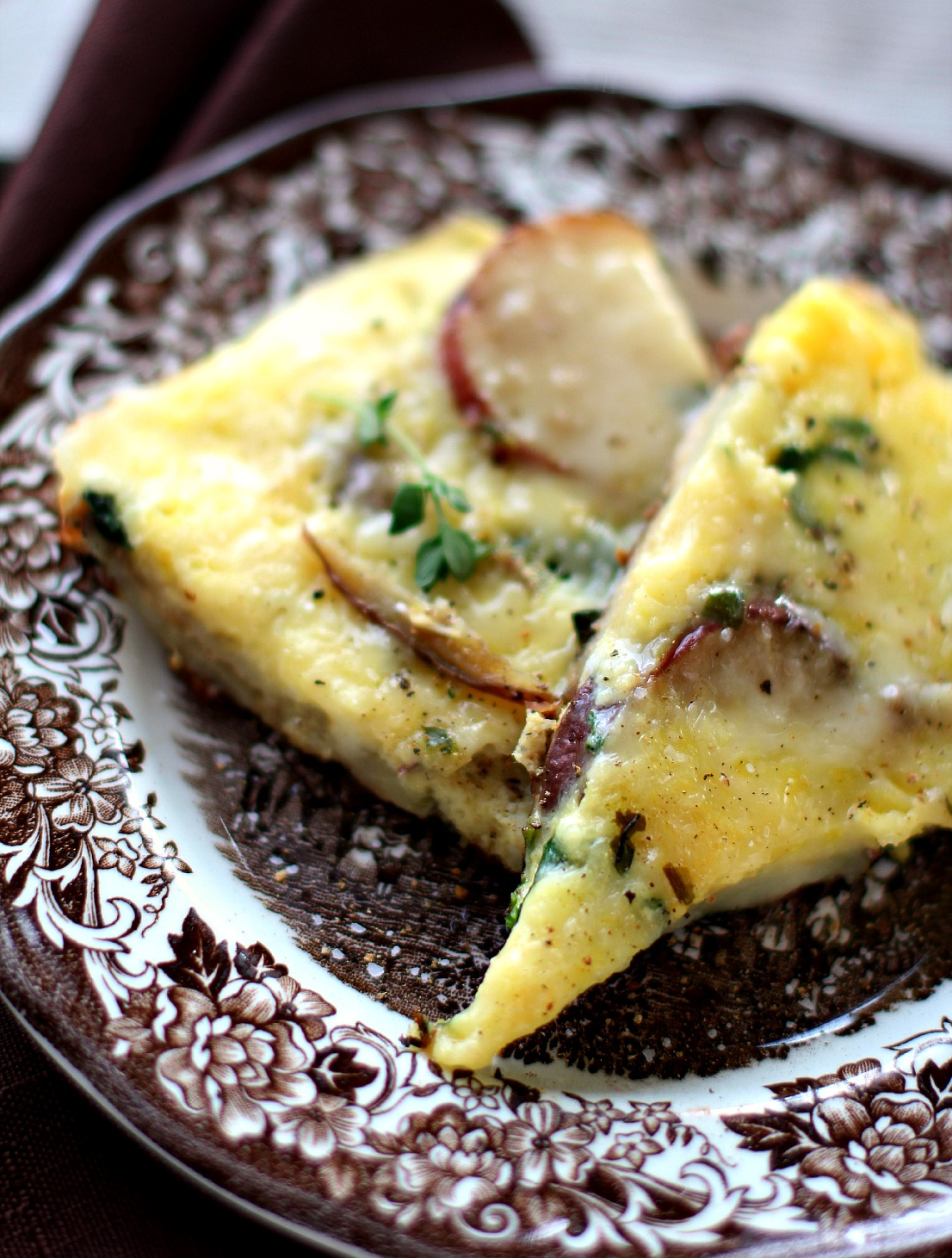 Potato & Spinach Frittata