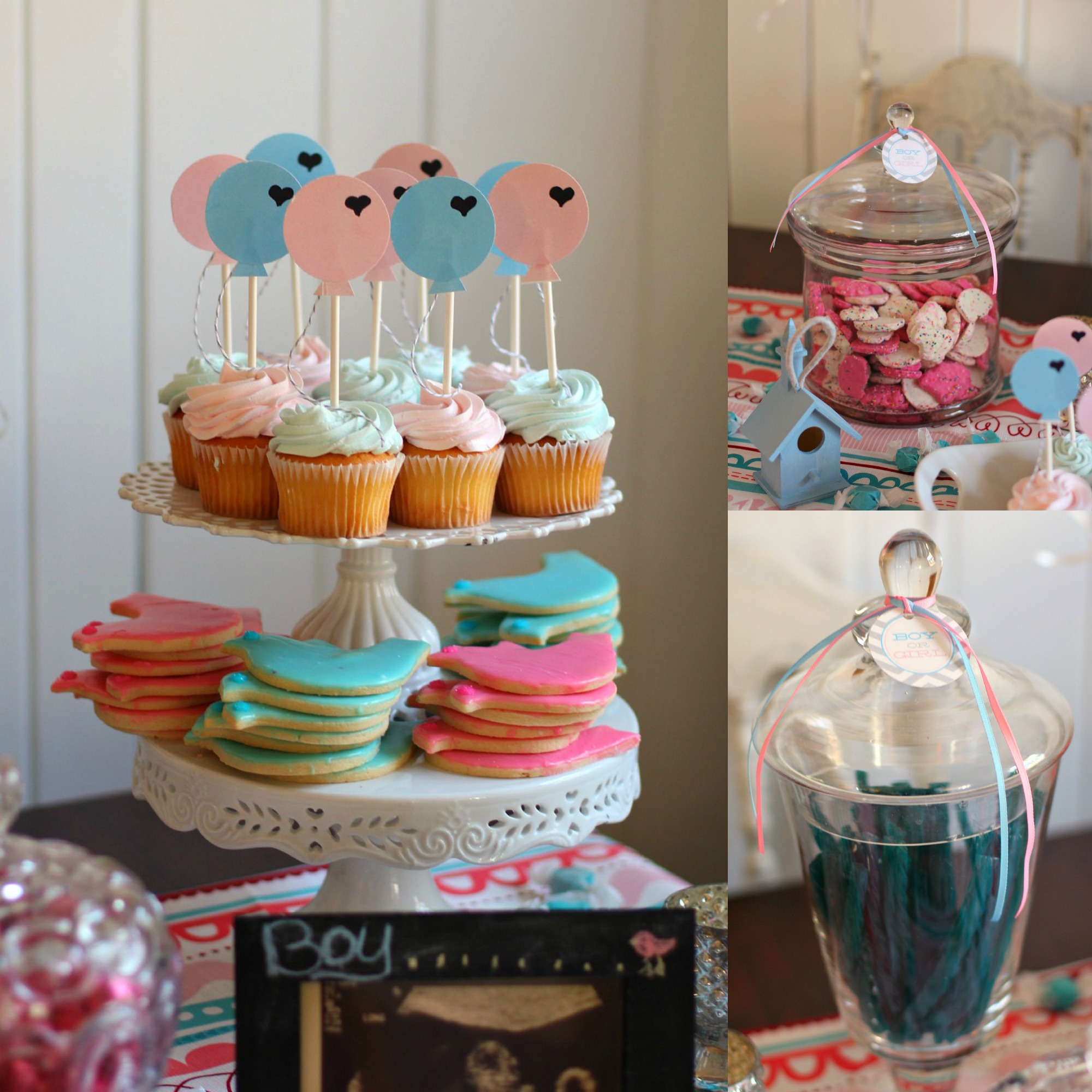 Pink Blue Gender Reveal Party High Heels To Hot Wheels