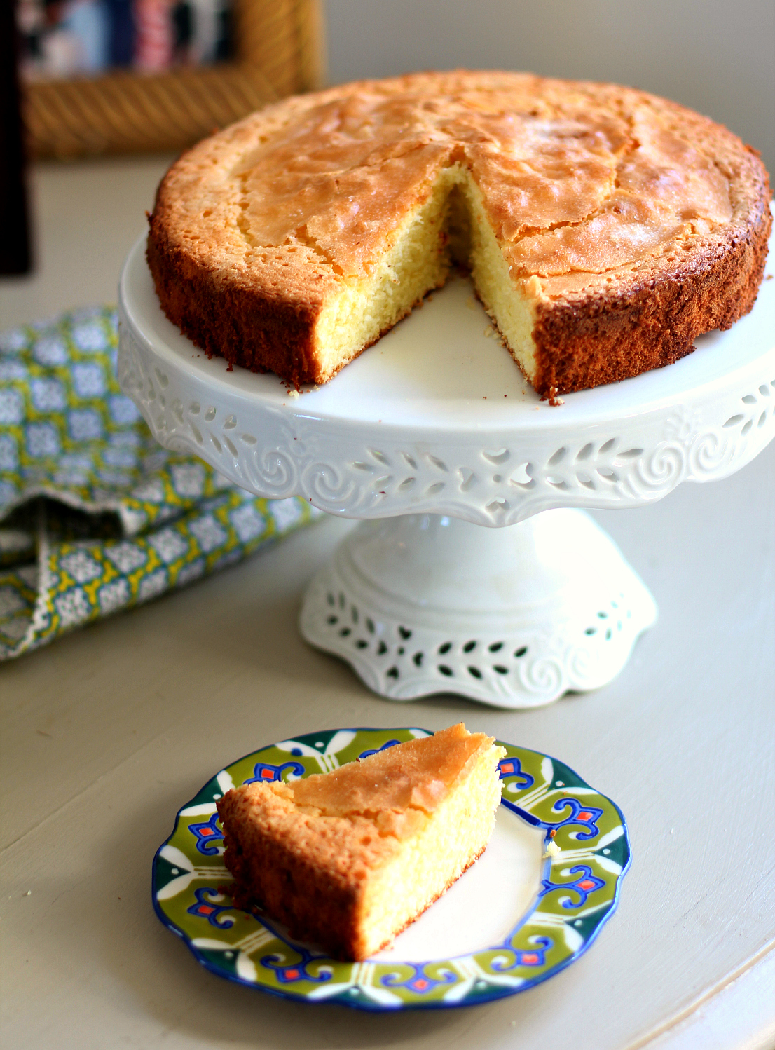 Olive Oil Cake with Grand Marnier Glaze