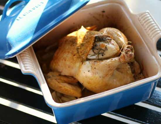 Rosemary & Fennel Roast Chicken