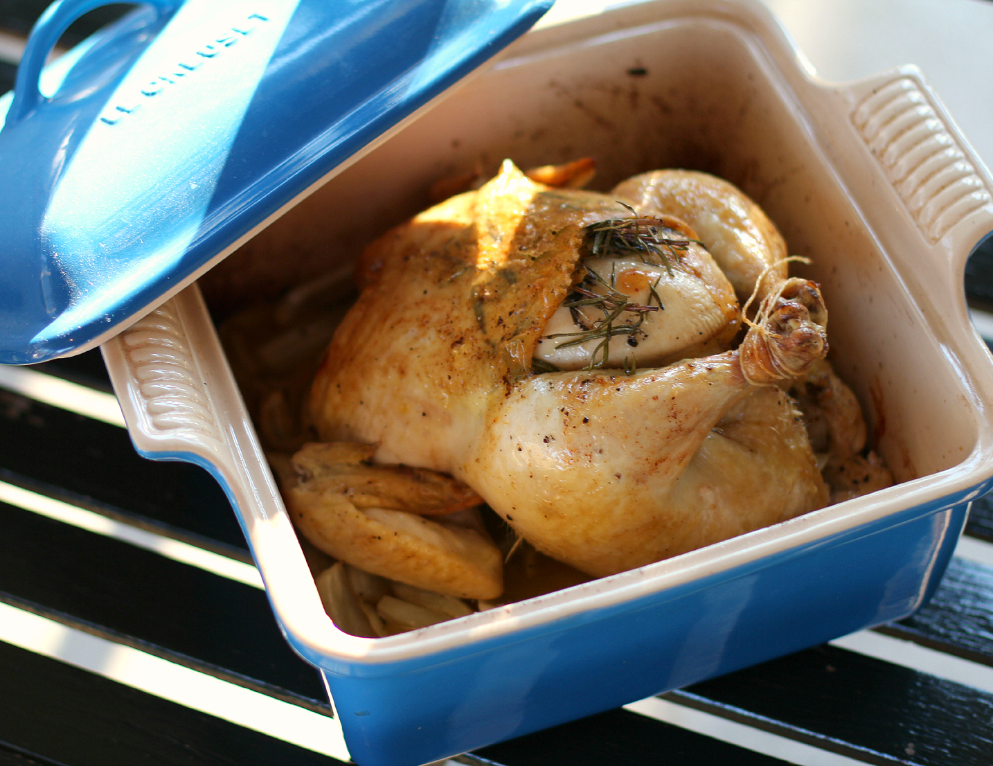 Rosemary fennel roasted chicken high heels to hot wheels rosemary fennel roast chicken are you the type of person that has to keep yourself from watching the cooking channel or food network or sitting down and forumfinder Gallery