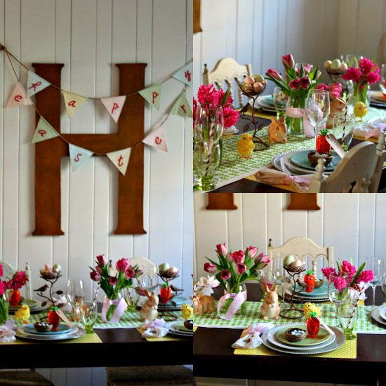 Any Store Easter Tablescape