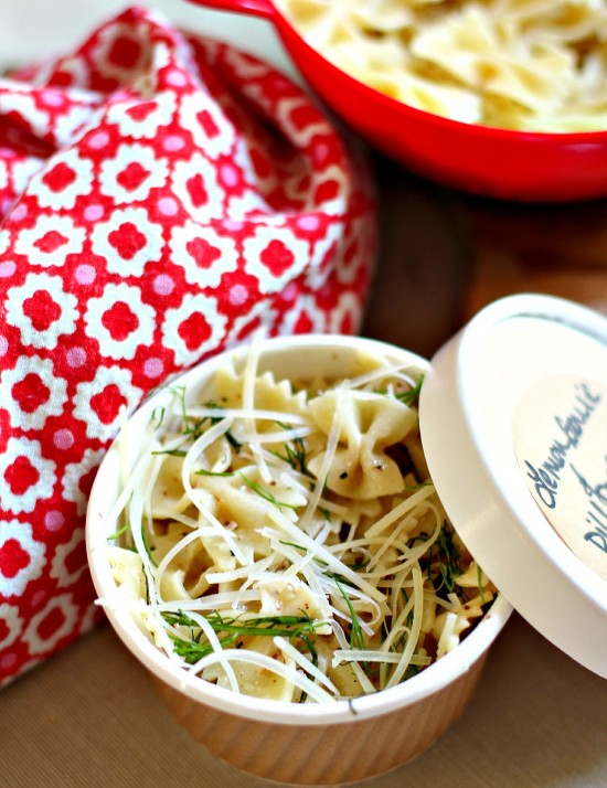 Lemon, Garlic & Dill Pasta