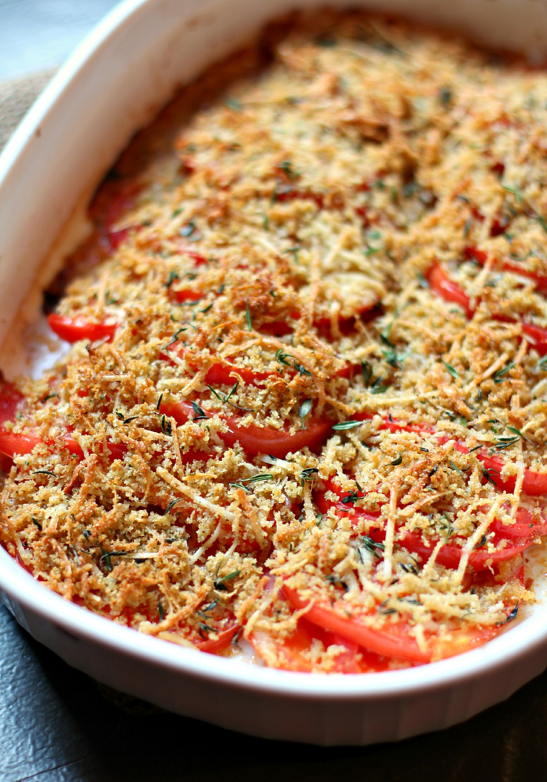 Tomato Gratin | High Heels To Hot Wheels