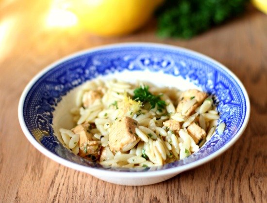 lemon orzo with parsley3