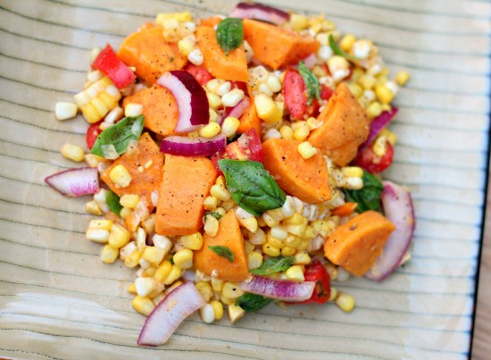 sweet potato corn salad